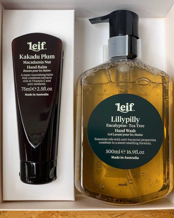 "Leif Lillypilly Kakadu Plum ""Two Hands"" Hand Wash and Lotion"