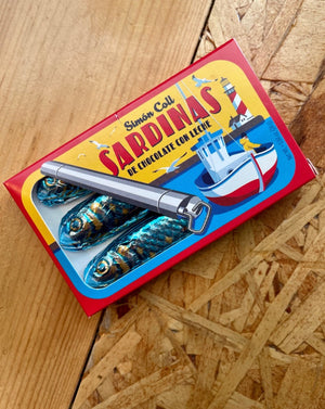 Simon Coll Milk Chocolate Sardines