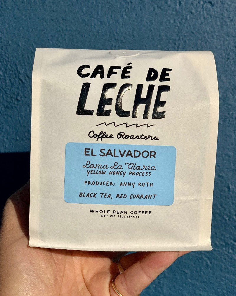El Salvador Roast: Medium Roast  Flavor Profile: Black Tea, Red Currant  Process: Honey