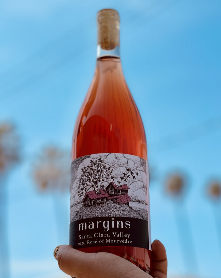 100% Mourvedre. Santa Clara Valley, California.  Woman winemaker - Megan Bell. All natural. Chillable red. Super limited! Strawberry-watermelon hibiscus Ice-T. Jolly rancher candy nose yet savory and bone dry on the palate. Salted plums.