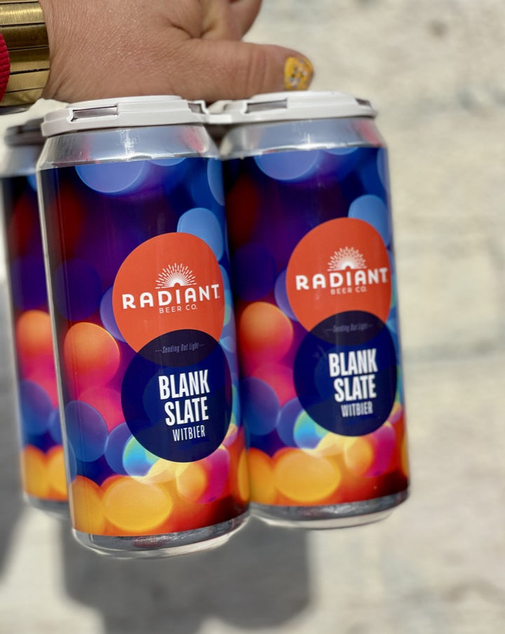 Radiant Blank Slate Witbier 4 pack