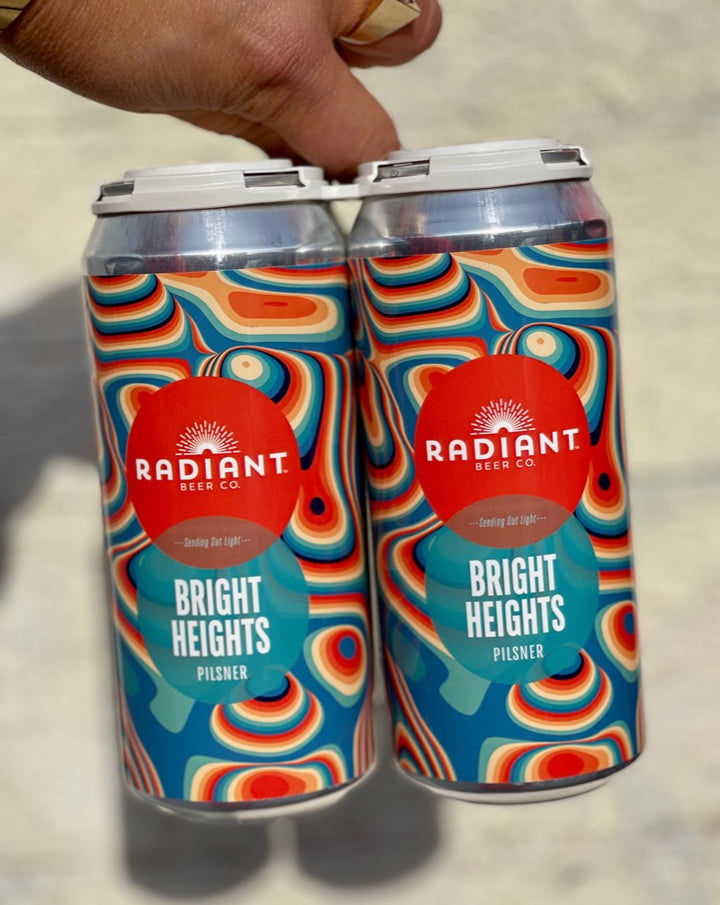 Radiant Bright Heights Pilsner 4 pack