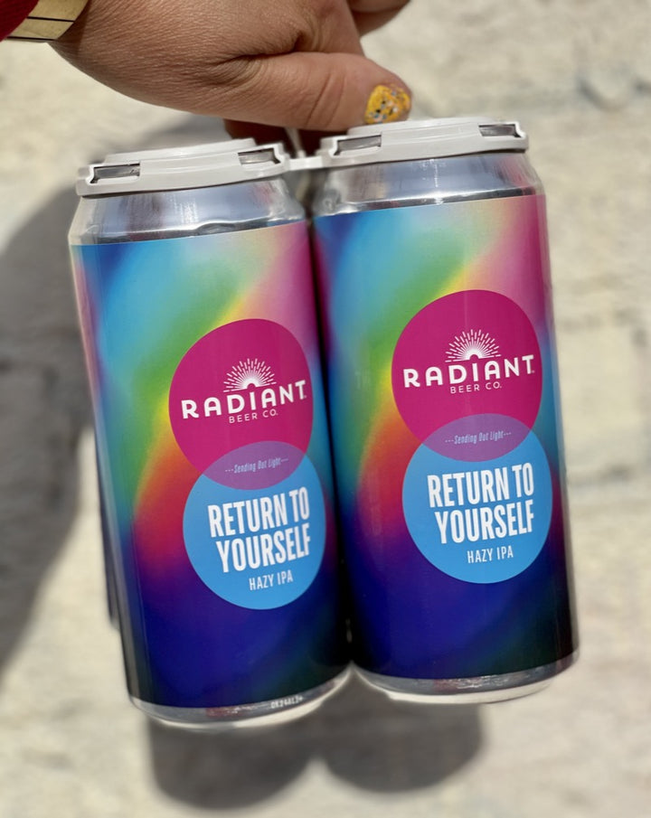 Radiant Return to Yourself Hazy IPA 4 pack