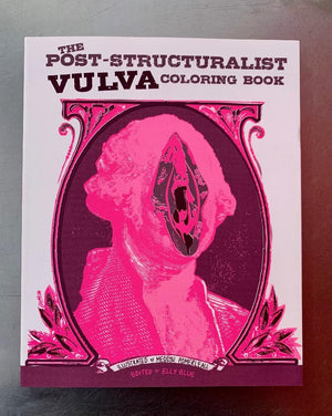 Post-Structural Vulva Coloring Book