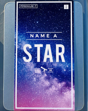 Name Your Own STAR Kit