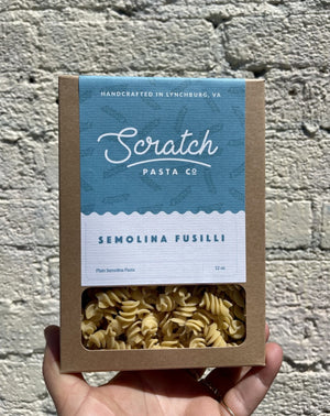 Scratch Pasta Co. Semolina Fussili