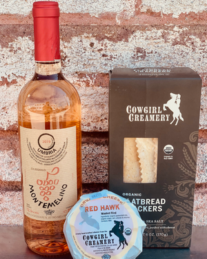 Time for some cheese, crackers and wine! Choose your color of wine and perfectly pair your cheesy combo! So, simply choose your color, and we will do the rest!
