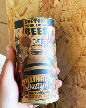 Pollinator's Delight Bee Flower Kit
