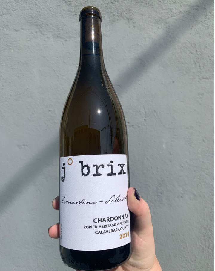 100% Chardonnay. Rorick Heritage Vineyard. Calaveras County, California.  Woman winemaker - Emily Towe. ALL NATTY. Unfiltered & unfined. Super creamy liquid gold. Bright & sunny. Rich fog with rays of sunlight.