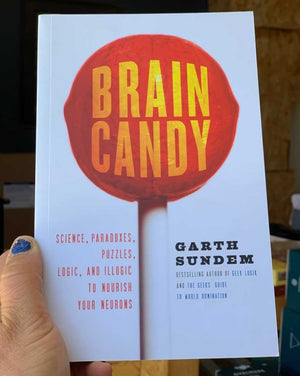 Tastier than a twizzler yet more protein-packed than a spinach smoothie, Brain Candy is guaranteed to entertain your brain—even as it reveals hundreds of secrets behind what's driving that electric noodle inside your skull.