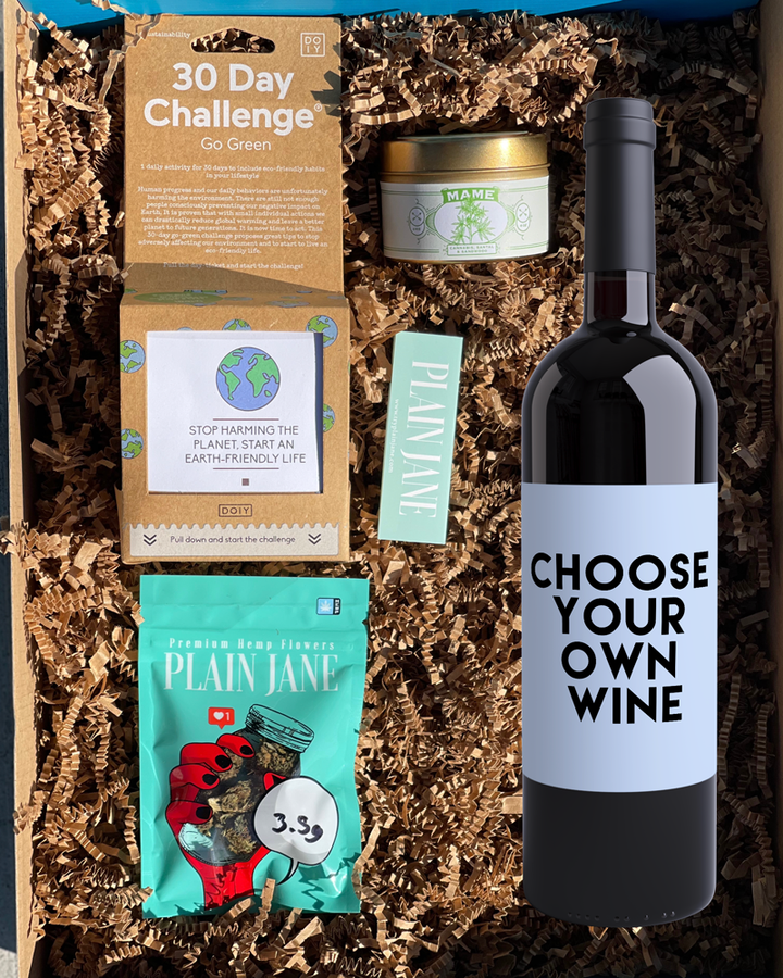 The Go Green *Choose Your Wine* Box