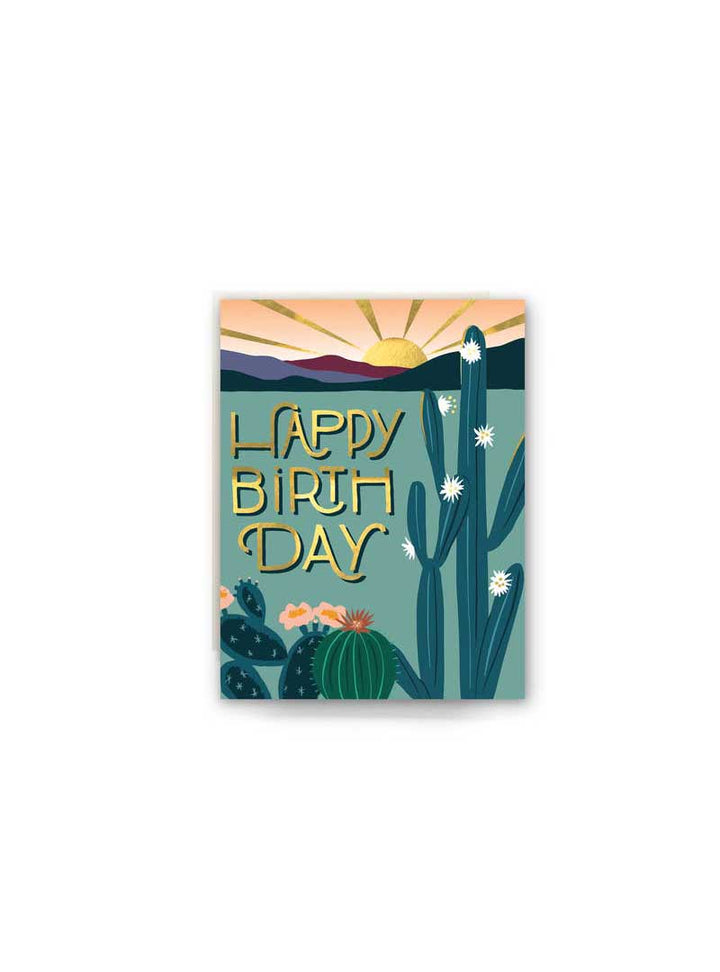 Happy B-Day Cactus Card