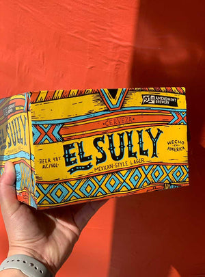El Sully Mexican Style Lager beer