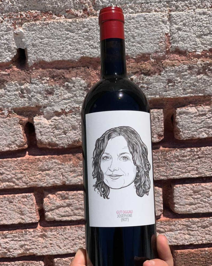 Rare Rosler Blaüfrankisch Burgenland, Austria  Lady winemaker - Stephanie Tscheppe. All natural. Limited + rare. Concentrated cherries + leather. All of the barn yards. Liquid goals. Mushrooms + wet forest.