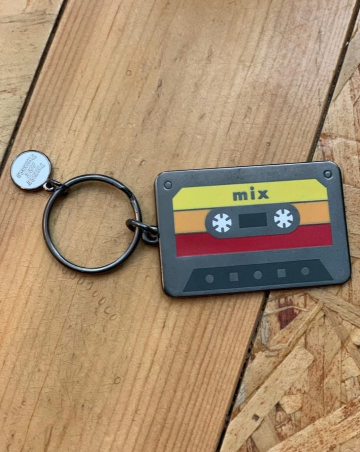 Mix Tape Key Chain
