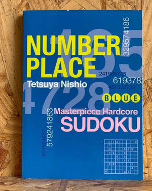 The puzzles in Number Place are conceived by Japan's greatest puzzler mind, Tetsuya Nishio, who takes extreme pleasure in handcreating his puzzles. His latest series, Number Place, provides 101 Sudoku puzzles plus a handful of logic puzzles and mazes! Now, after readers are through with their Sudoku puzzles, they can test out a whole new line of Nishio-created torture!
