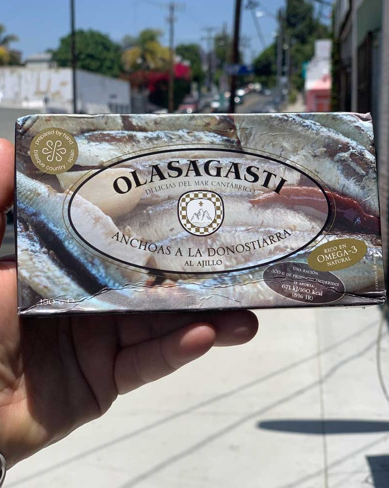 Olasagasti Anchovies a la Basque