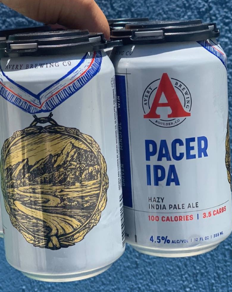 "Avery Pacer ""Guilt Free"" Hazy IPA 6 Pack"
