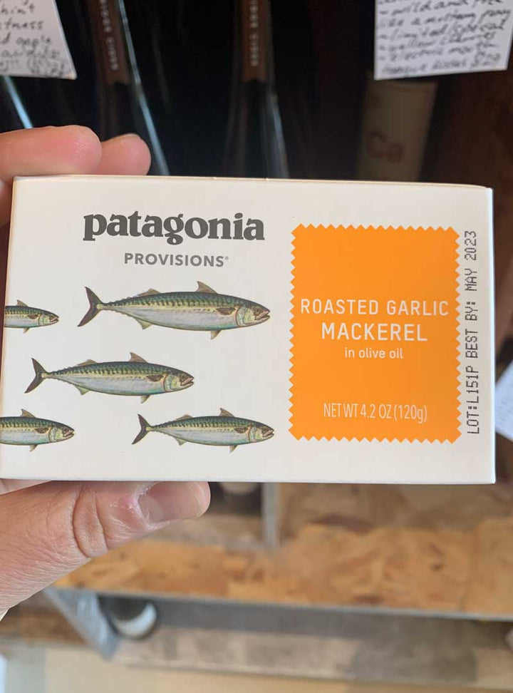 Patagonia Provisions Roasted Garlic Mackerel