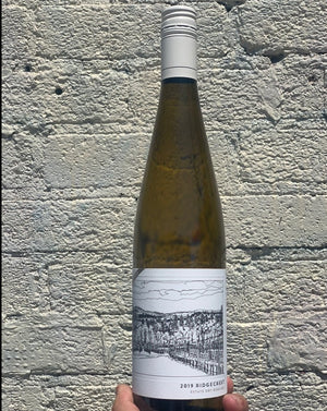 100% Dry Riesling Willamette, Oregon.  Woman winemaker - Wynne Peterson-Nedry. All natural. Age-worthy if you can wait! Razor sharp freshness. Spicy ginger. Super food-friendly. Lush + peachy. Kumquats + quince. Like diving into a crisp pool naked on a hot day.