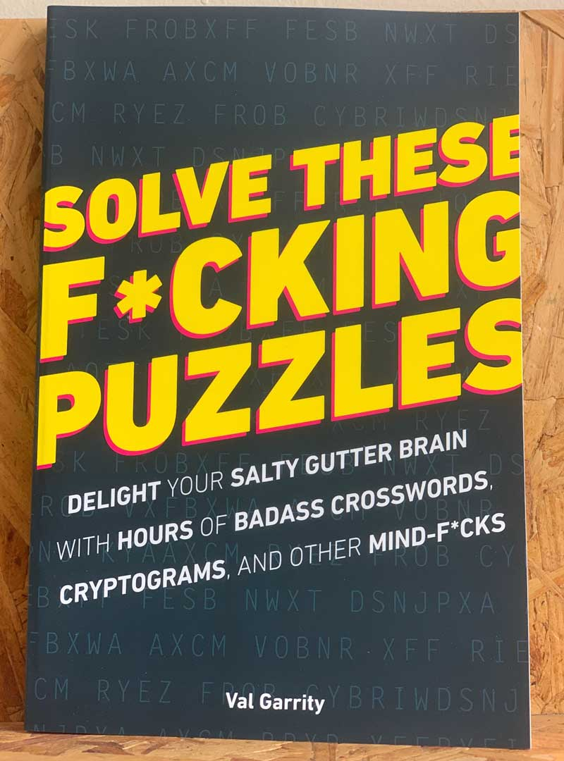 Solve These F*cking Puzzles
