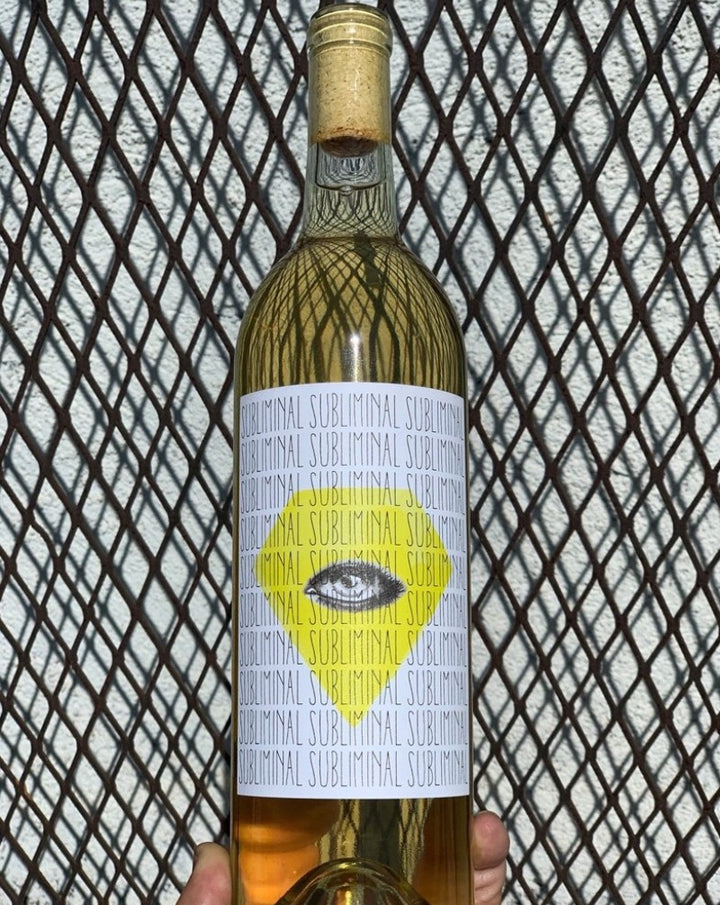 80% Sauvignon Blanc, 20% Semillion Santa Barbara, California.  Woman winemaker - Marlen Porter. All natural. 41 year old vines. Malolactic and aged on lees! Race car acidity with boogie van lushness. Some tropical fruit + wild herbs.