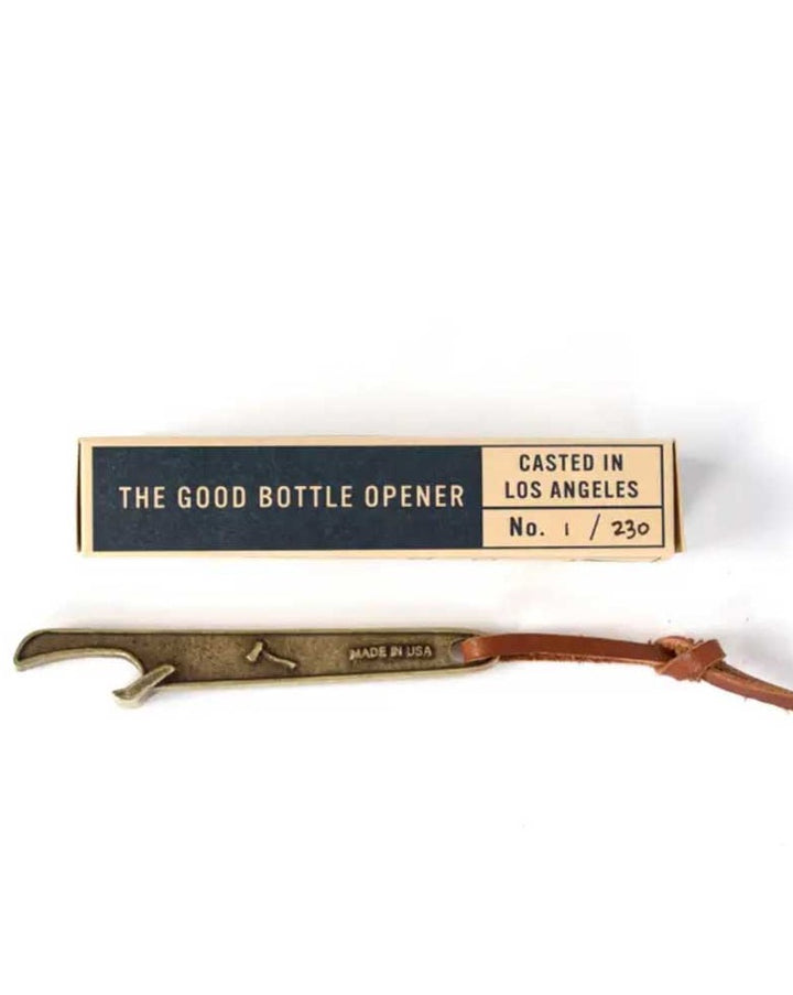 The Good Bottle Opener