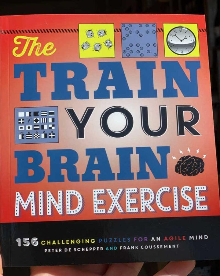 156 Challenging puzzles for an agile mind by Peter de Schepper and Frank Coussement.