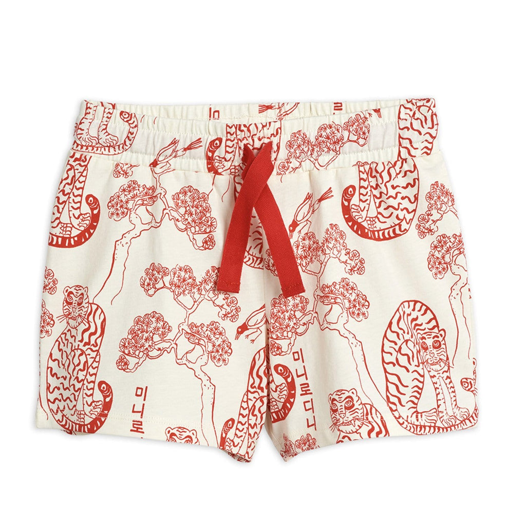 Tigers AOP Shorts Off White