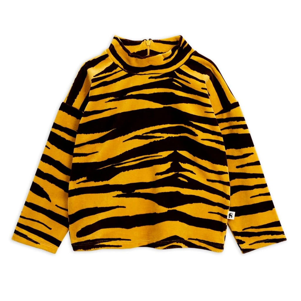 Tiger Velour Sweater