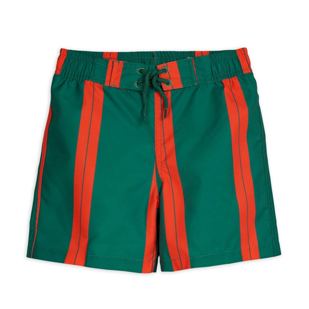 Stripe Swimshorts Green