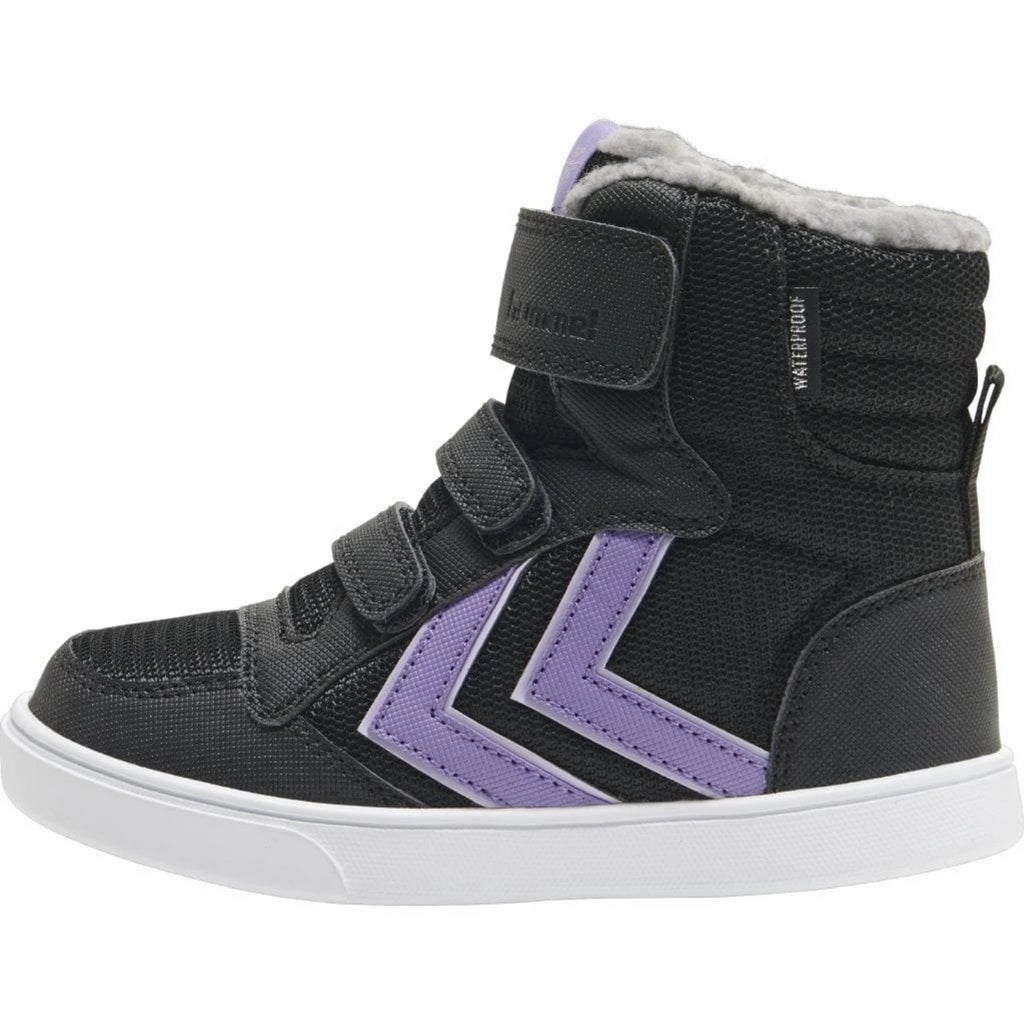 Stadil Poly Boot Black/Aster Purple