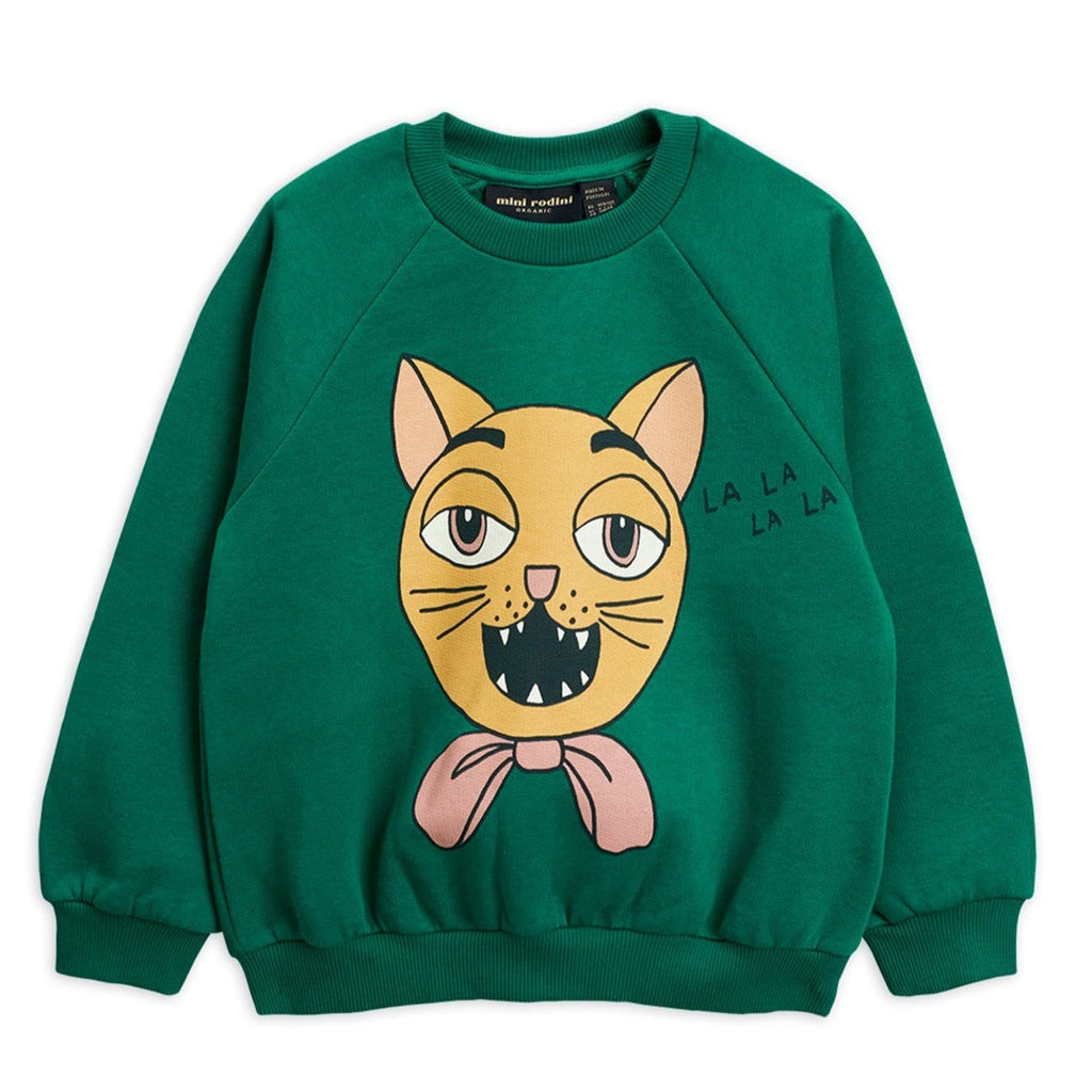 Cat Choir SP Sweatshirt Green