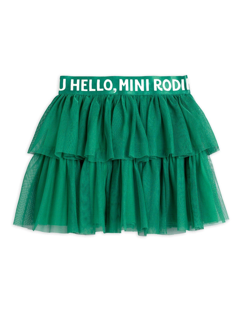 Tulle Skirt Green
