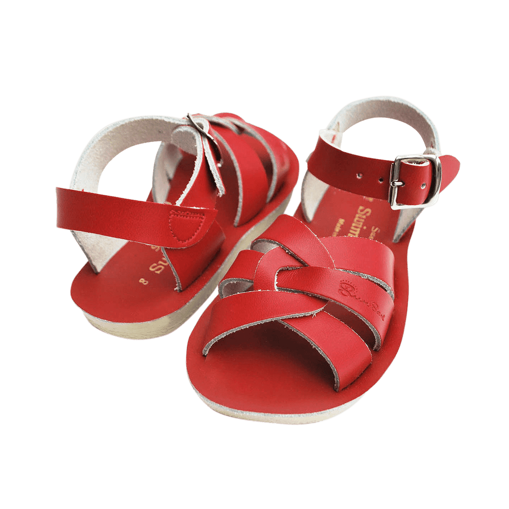 Swimmer Salt-Water Sandals Red