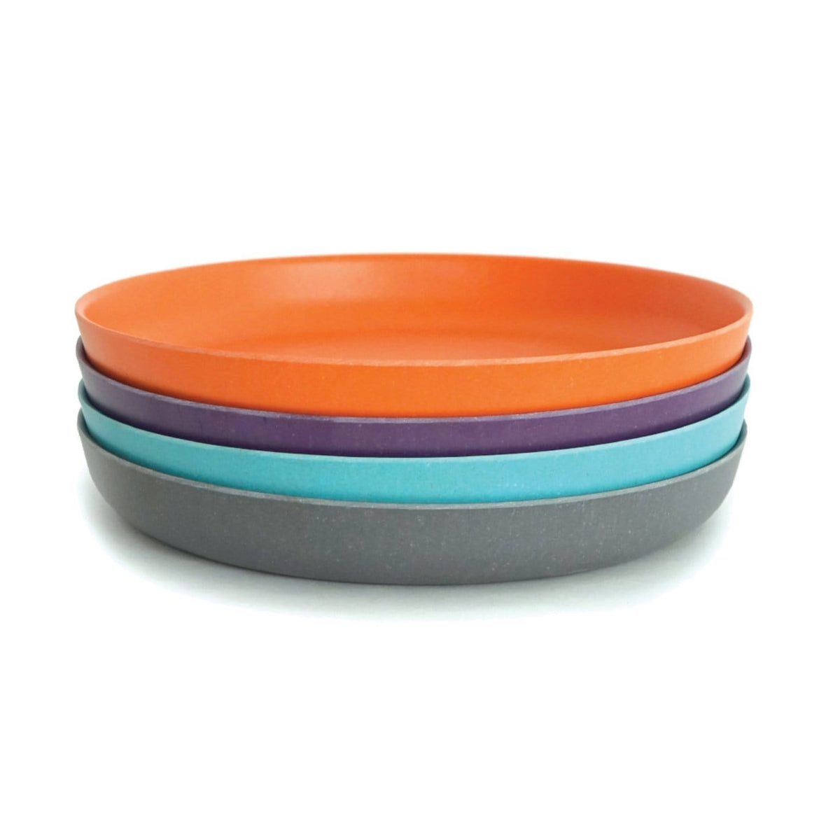 Bambino Small Plate Set 1 Persimmon Prune, Smoke