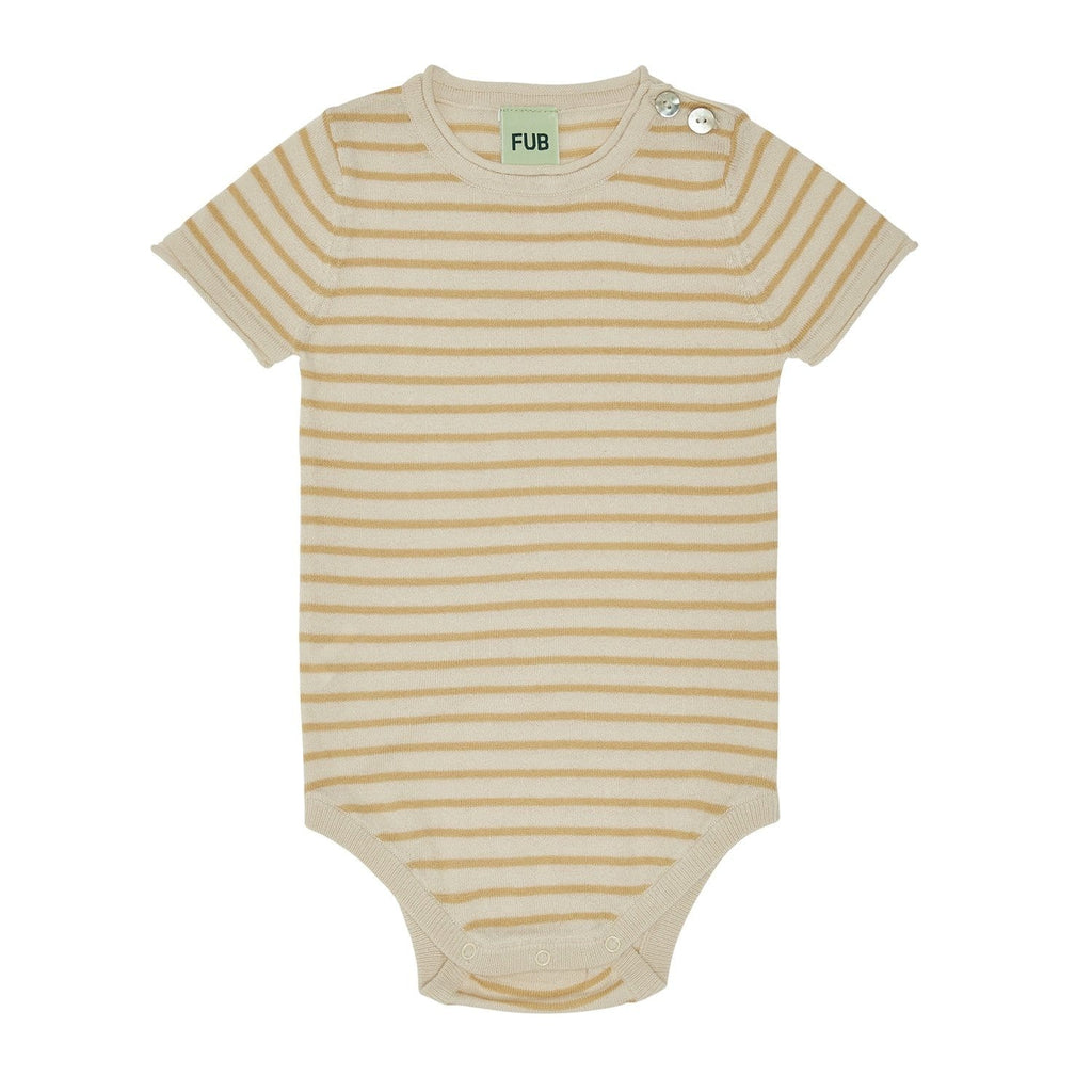 Baby SS Body Ecru/Yellow