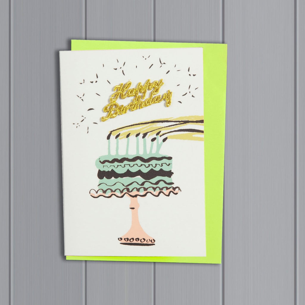 Cake Happy Birthday Card