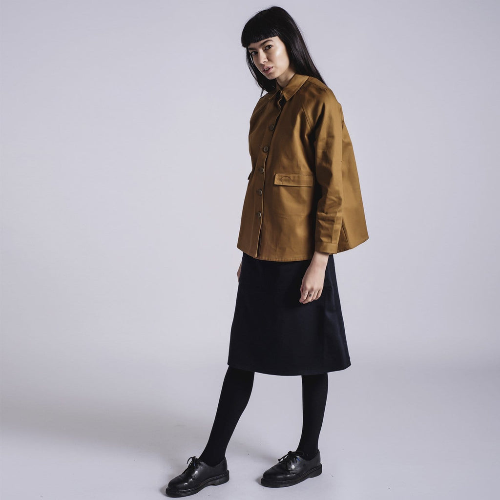 Toffee A Line Jacket