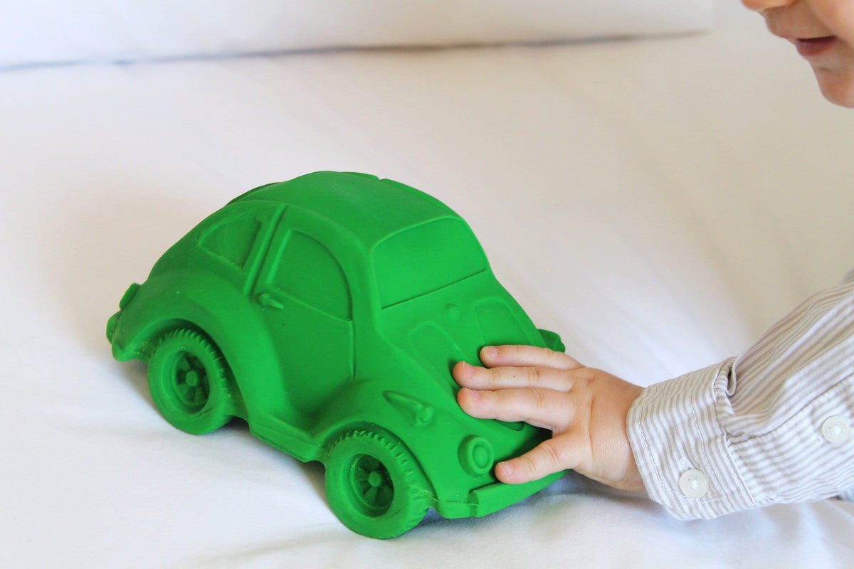 Large Beetle Car Green