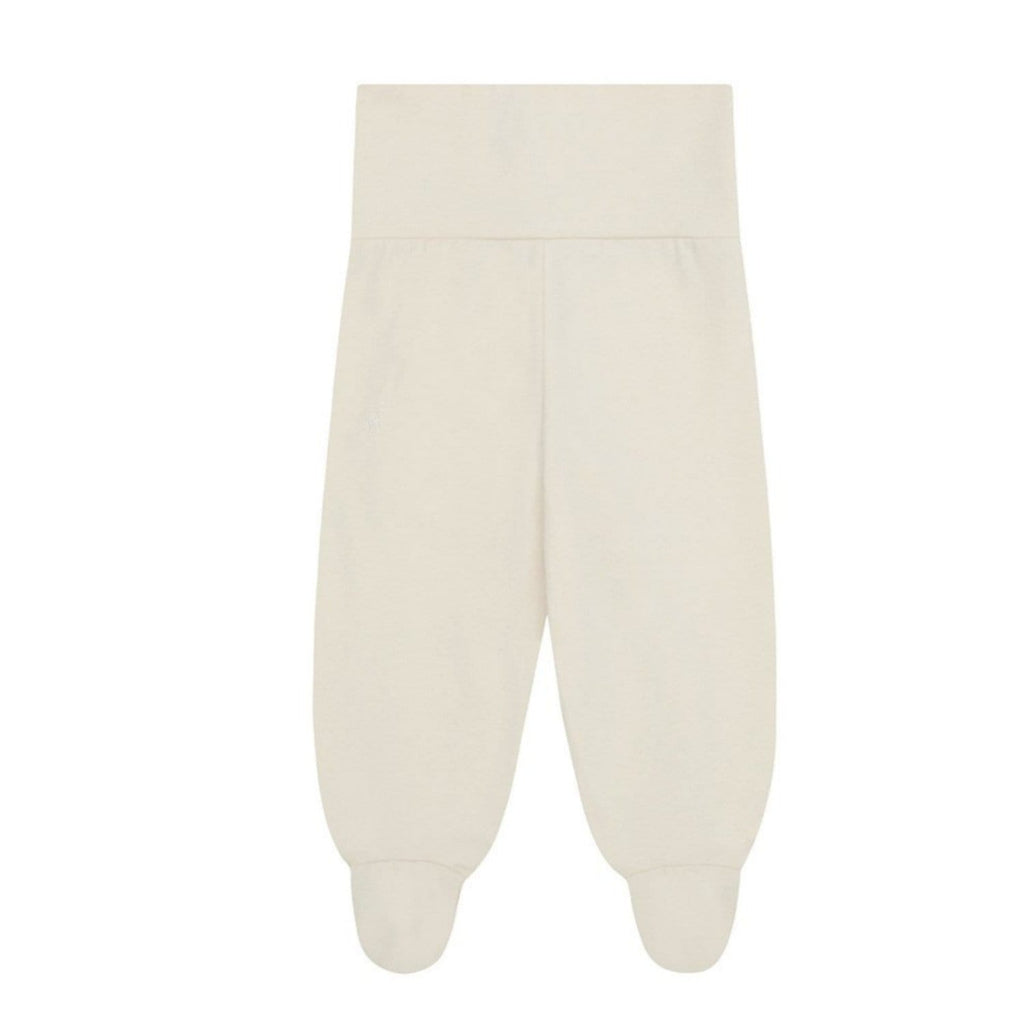 Leggings With Feet Organic Cotton Natural