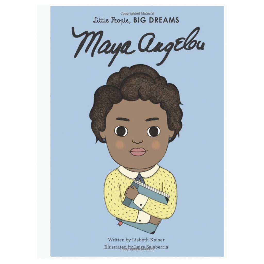 Little People Big Dreams Maya Angelou