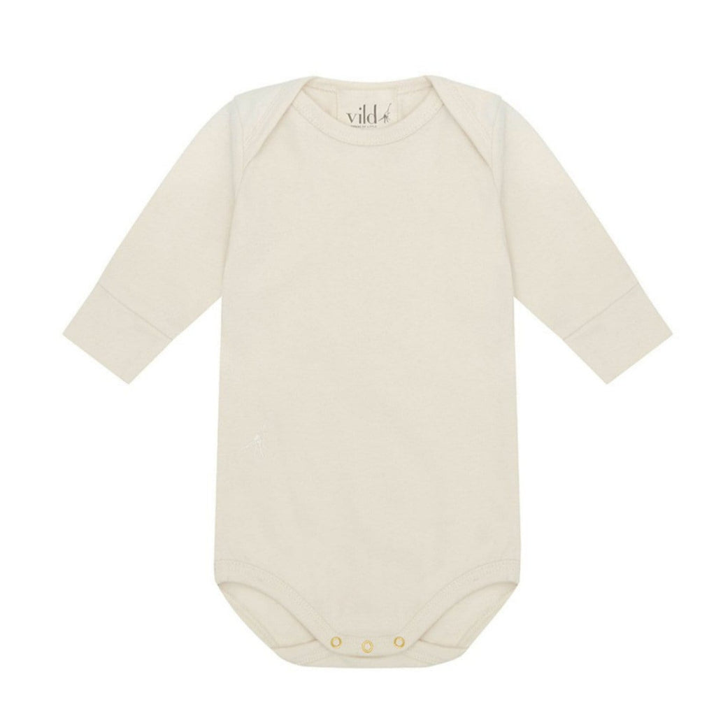 LS Bodysuit Organic Cotton Natural