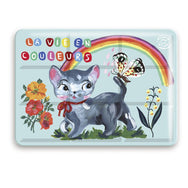 Nathalie Lete Cat Tin Painting Set