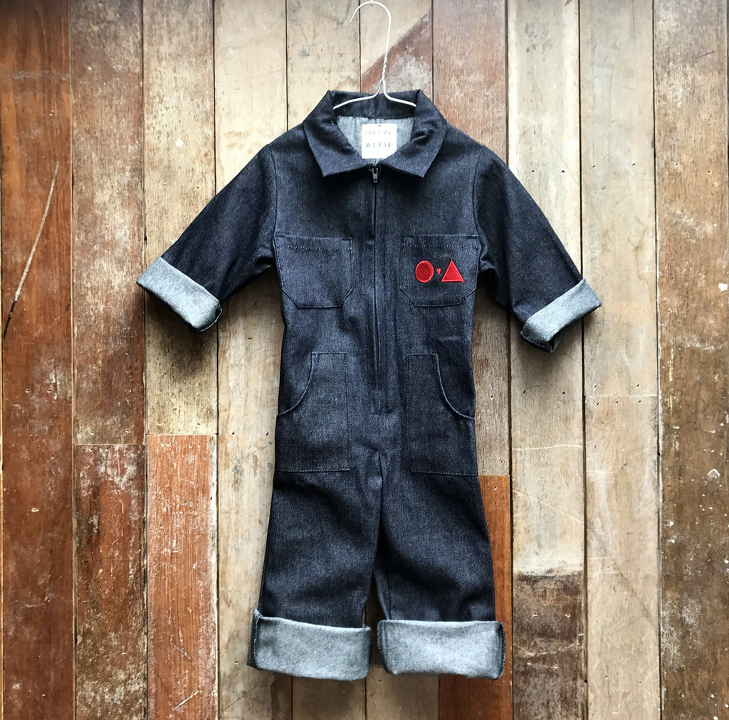 Frankie Denim Boilersuit