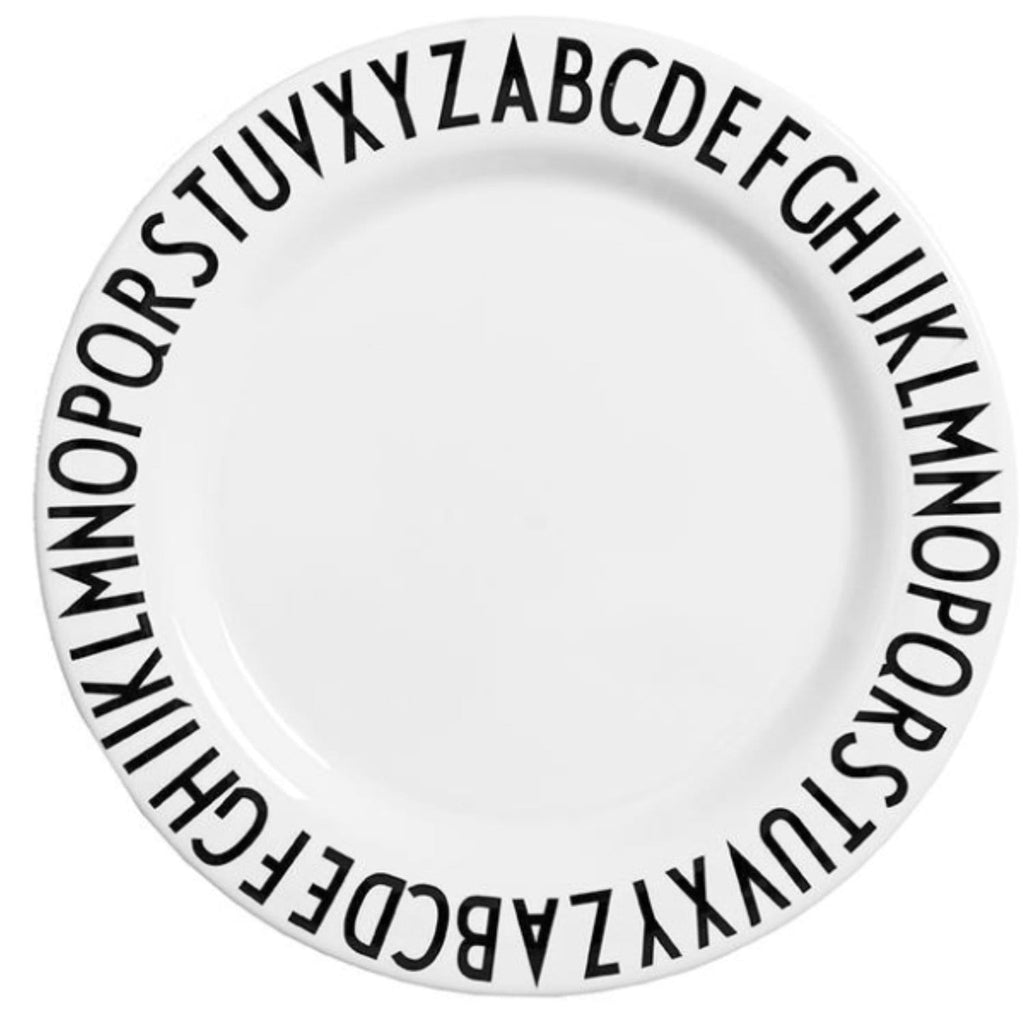 ABC Melamine Dinner Plate
