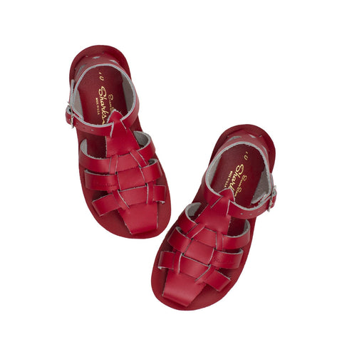 Shark Salt-Water Sandals Red
