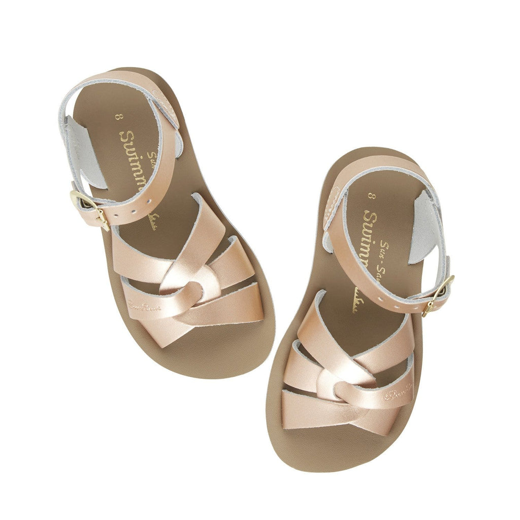 Swimmer Salt-Water Sandals Rose Gold