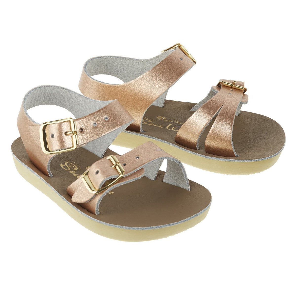 Seewee Salt-Water Sandals Rose Gold