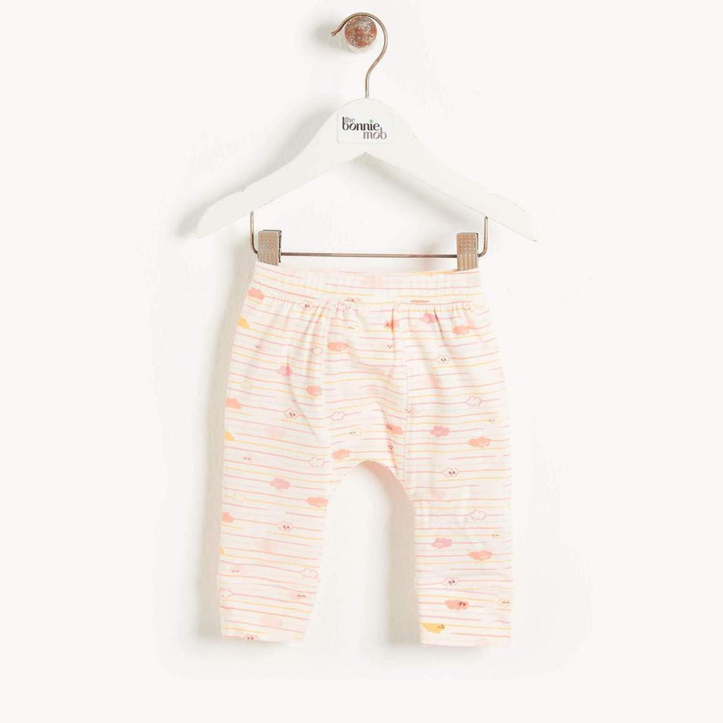 Sorrento Baby Legging Peach